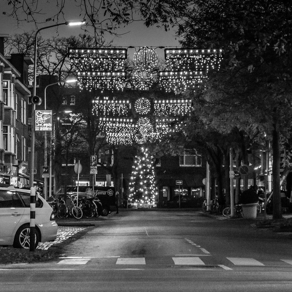 Kerst winkelgebied Van Hoytemastraat