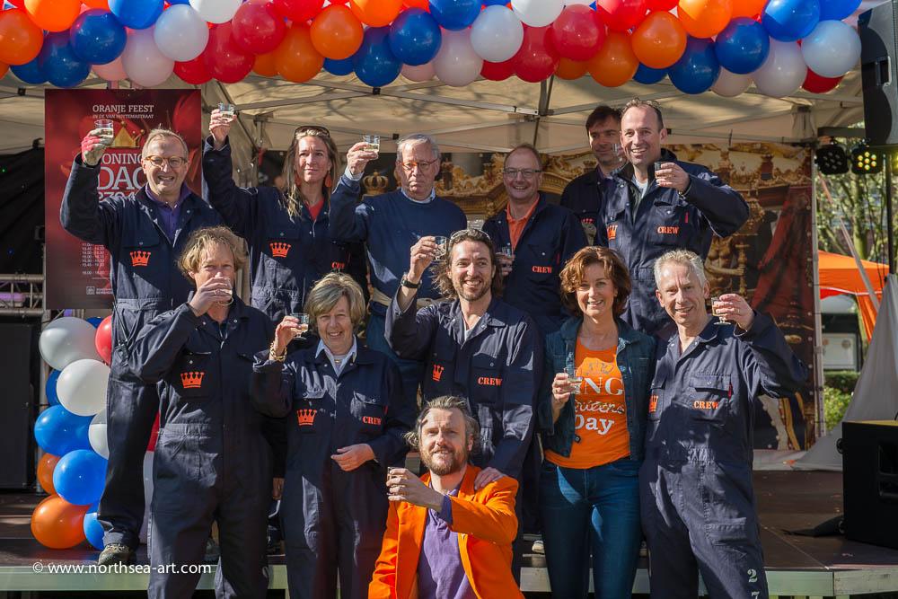 Organisatie Oranjefeest