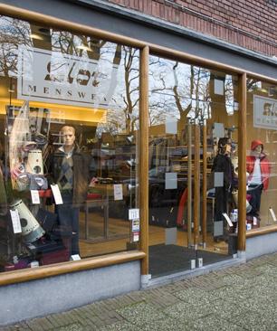 Winkelpui Slot Menswear Winkelgebied Van Hoytemastraat Benoordenhout