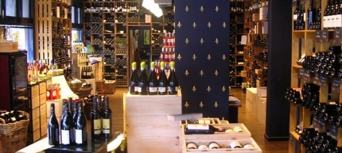 Henri Bloem Kwaliteitswijnen winkelgebied Van Hoytemastraat Benoordenhout
