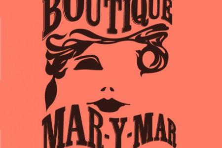 Logo Damesboutique Mar-Y-Mar winkelgebied Van Hoytemastraat Den Haag