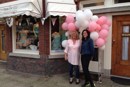Pinke en lie eigenaren, winkelgebied Van Hoytemastraat Benoordenhout Den Haag