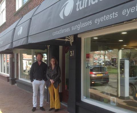 Oogmerk Tunderman winkelgebied Van Hoytemastraat in Benoordenhout