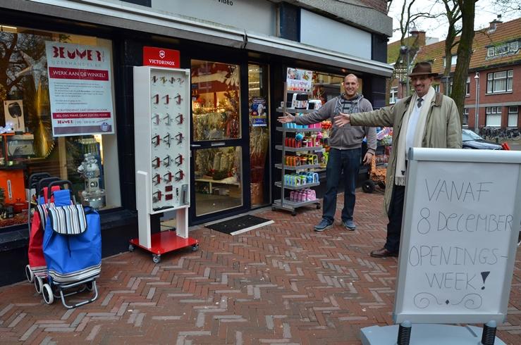 Heropening Beumer IJzerhandel winkelgebied Van Hoytemastraat