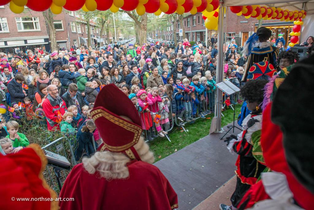 Sinterklaas 2014 Winkelgebied Van Hoytemastraat