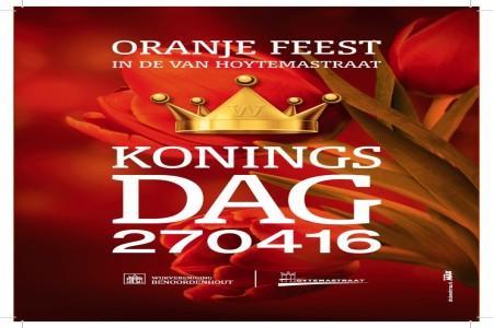 Oranje feest in de van Hoytemastraat